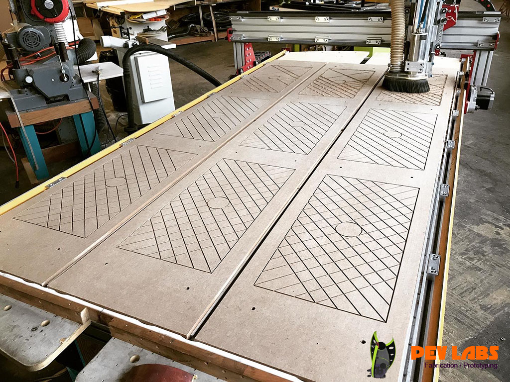 Custom CNC Routing Machine
