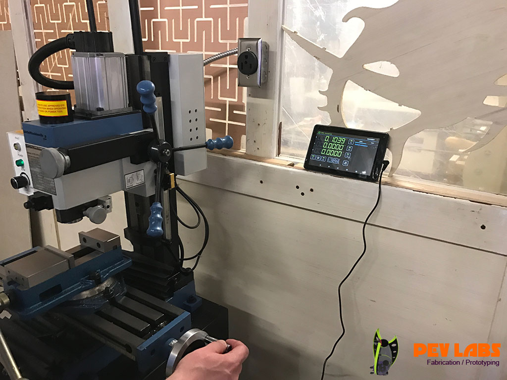 CNC Vertical Mill with Digital Controls