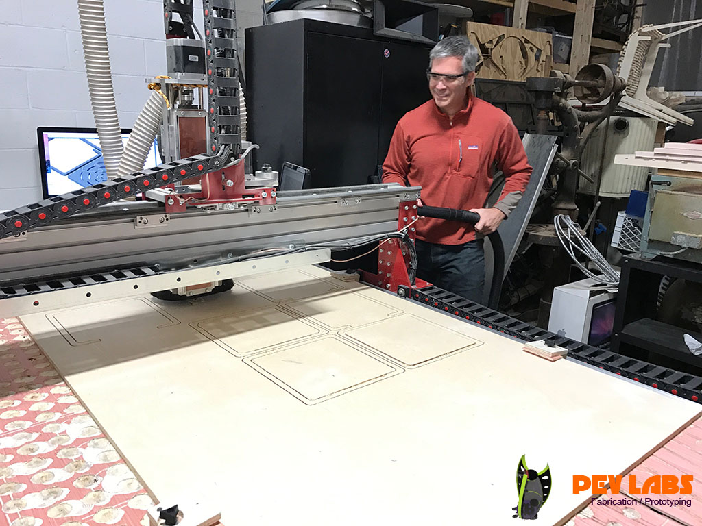 Co-Fabrication CNC Milling With Rex
