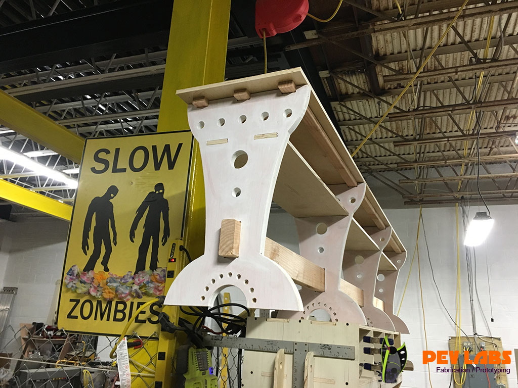 Slow Zombies in Factory