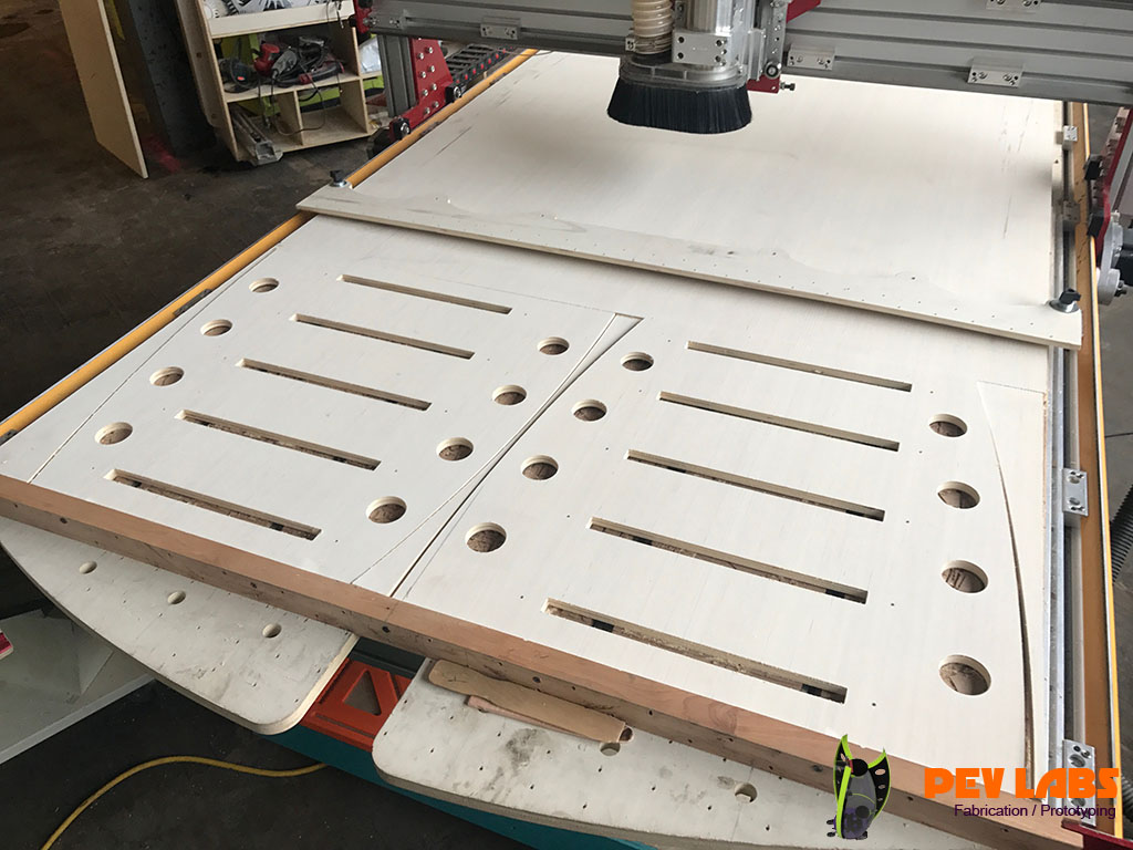 Flat-Pack CNC Workbench Milling