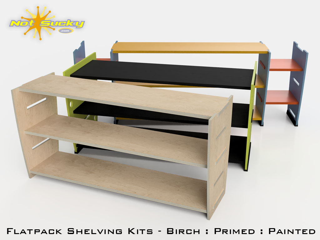 Flat Pack Shelving Page