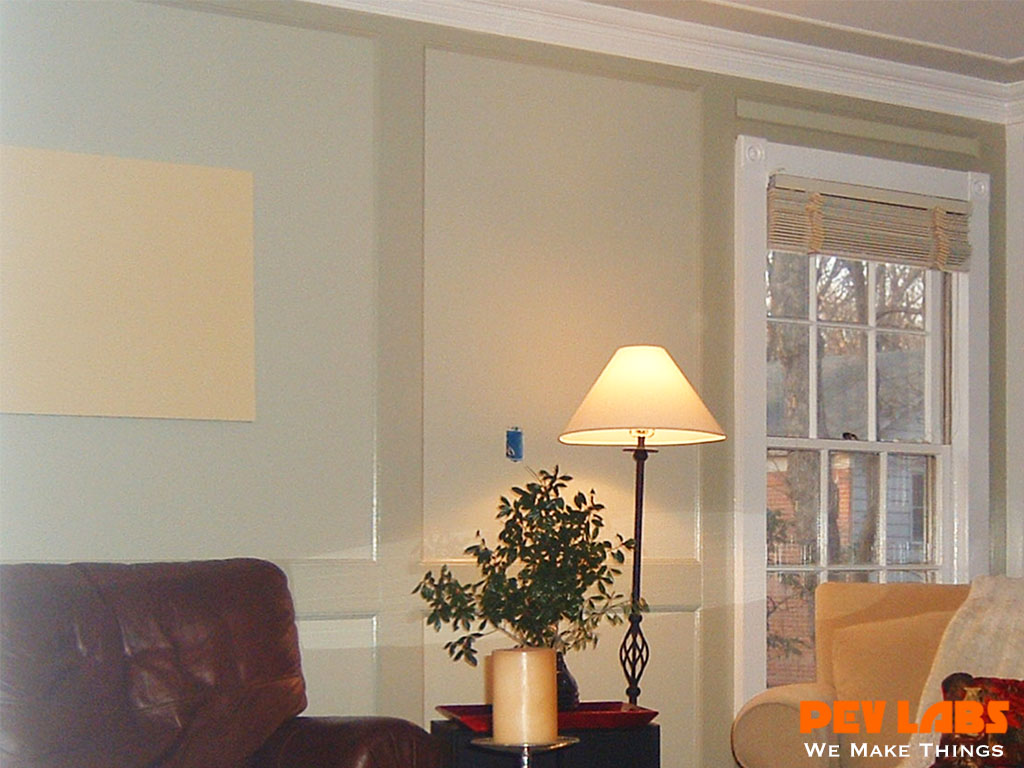Custom Wall Paneling and Crown