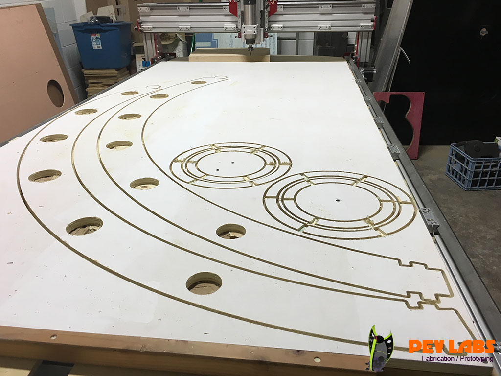 CNC Milling SEV Spherical Electric Vehicle