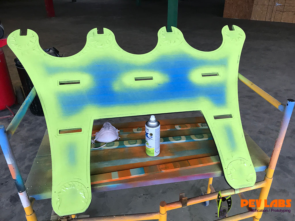 Table Legs Highlight Painting
