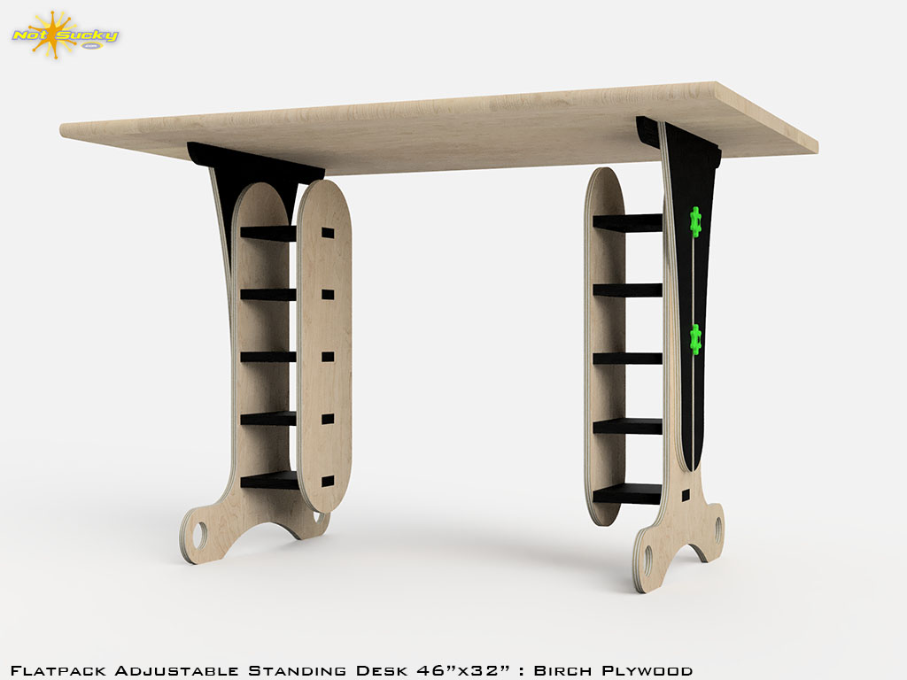 Learn More about our Coronavirus Related Products Like Flat Pack Standing Desk
