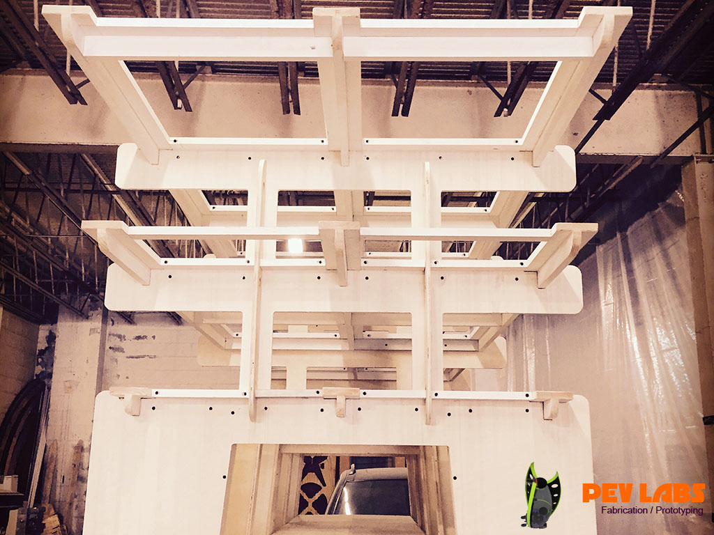 More About Trellis System On Top Lumber Rack