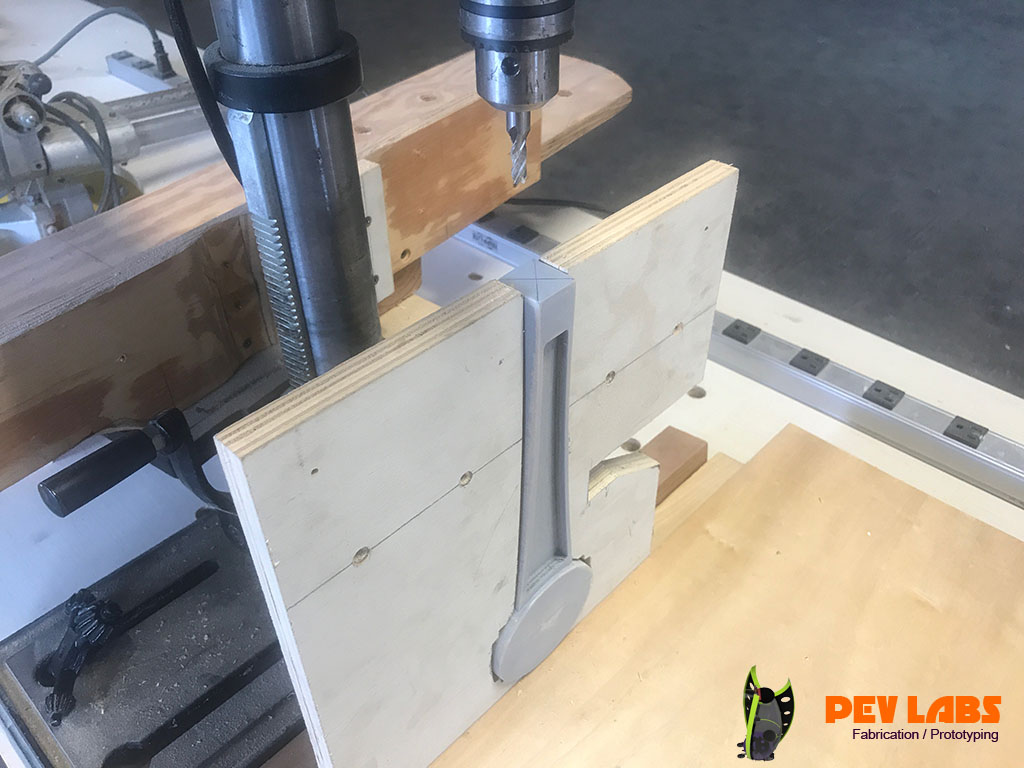 Drill Press Jig for Tap Handle Ferrule