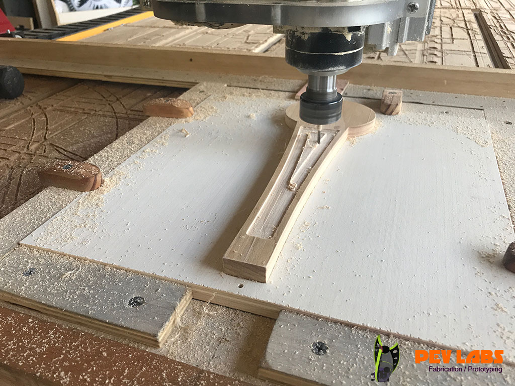 Tap Handle CNC Pocket Milling