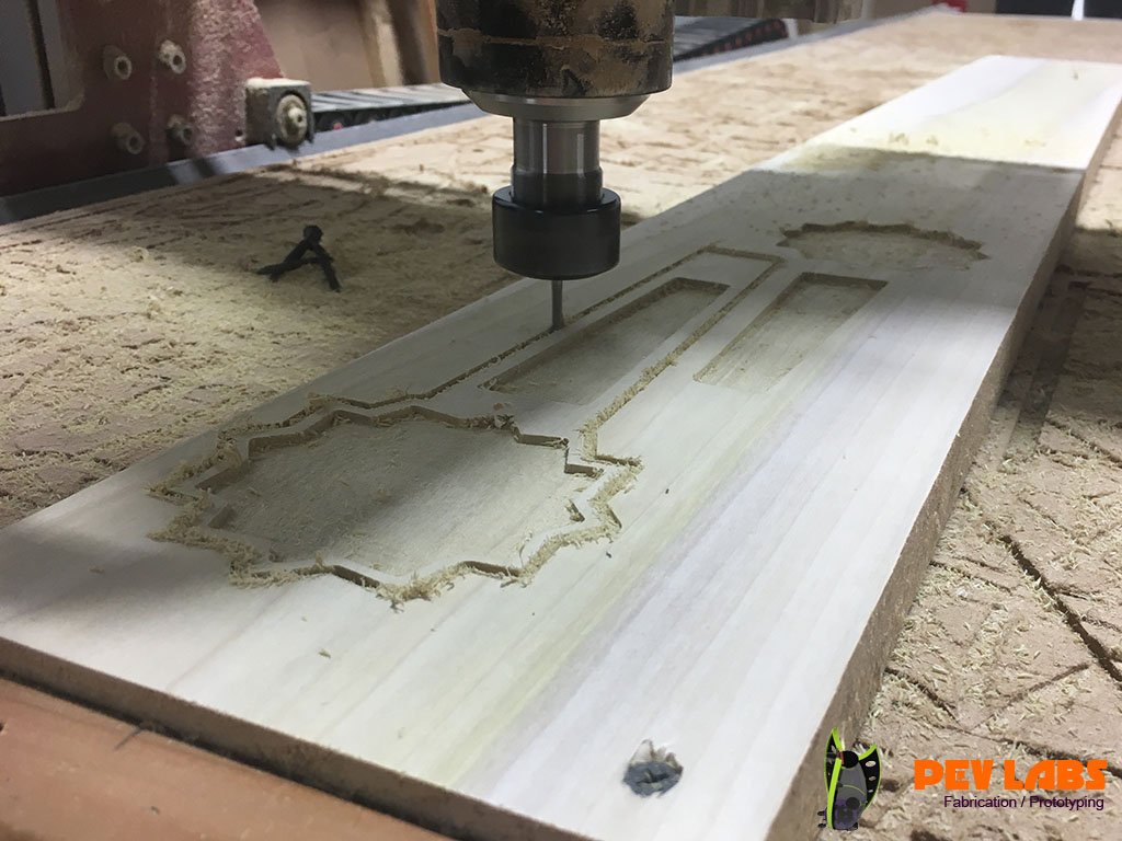 CNC Milling Popular for Wooden Tap Handles