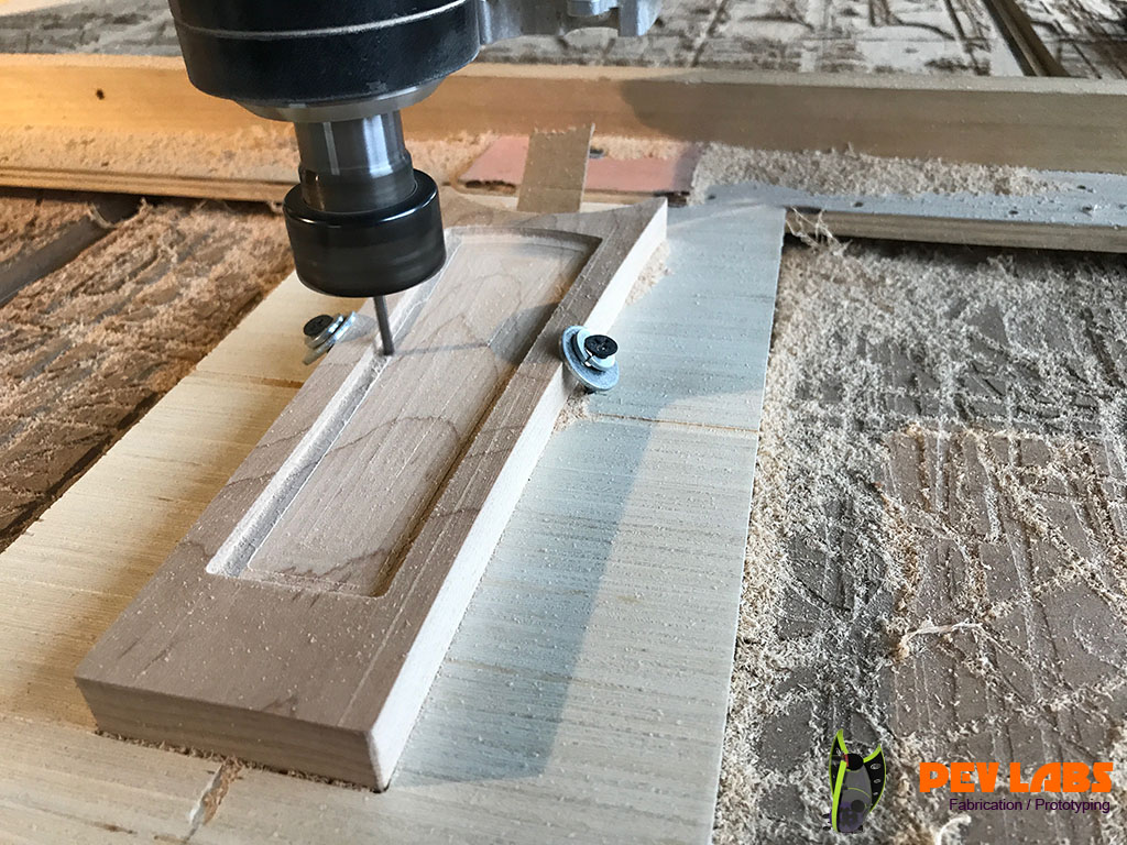 CNC Milling of Insert Blank