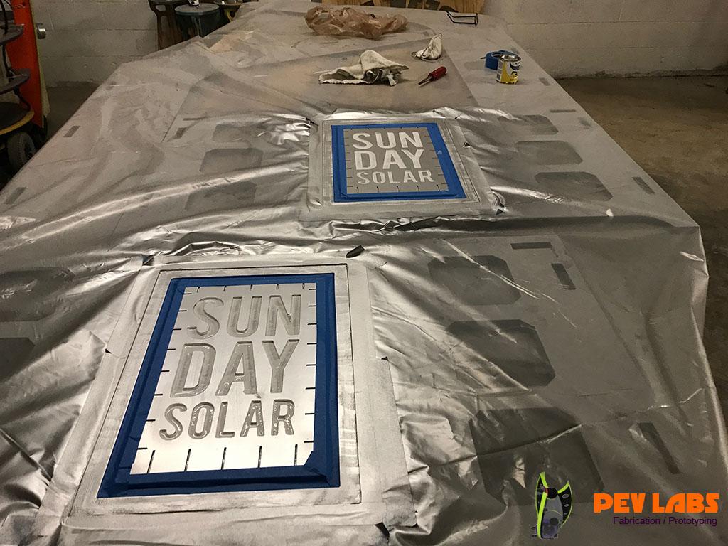 Pev Labs Transparent Solar Panel Event Flatpack Display