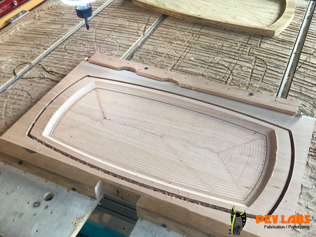 Custom Serving Tray Production