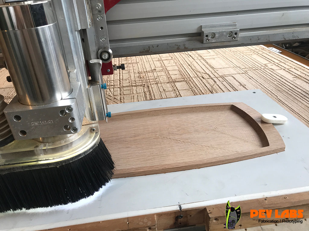 Wood Tray Milling