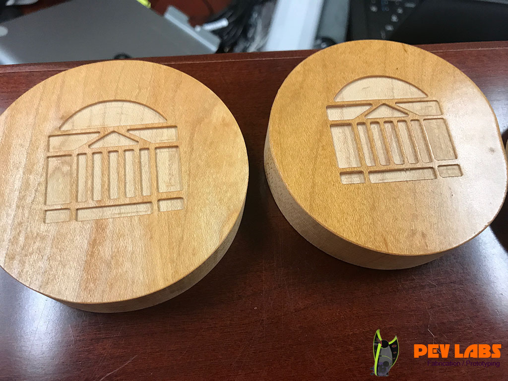 UVA Drink Coasters Reclaimed Wood