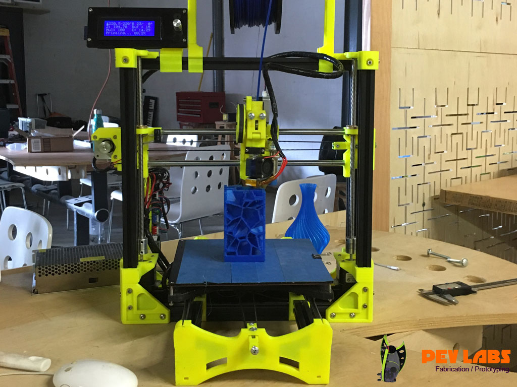 Custom Made RepRap 3D Printer