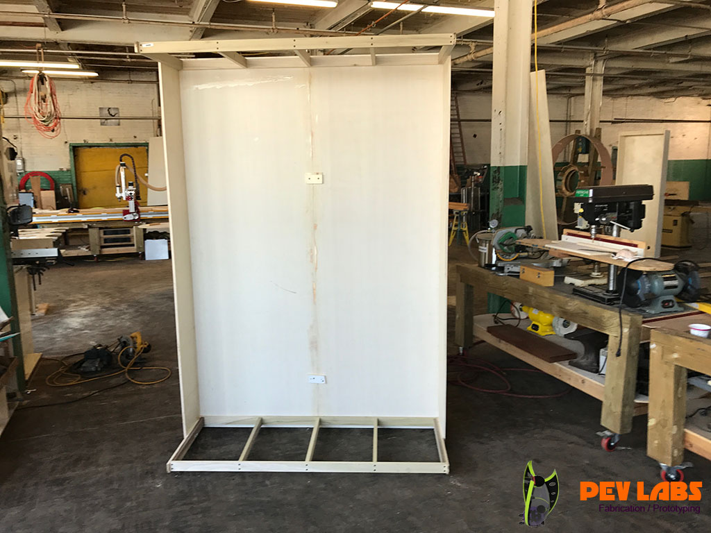 Custom Cabinet Shell Framing