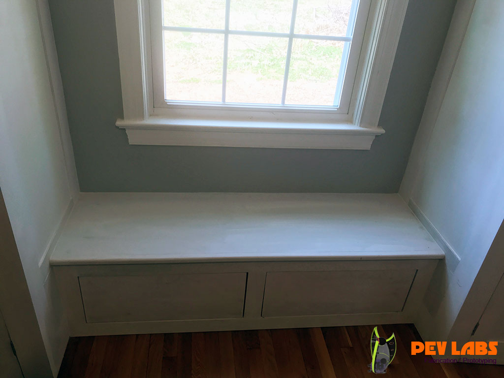 Built-in Window Seat Cabinetry