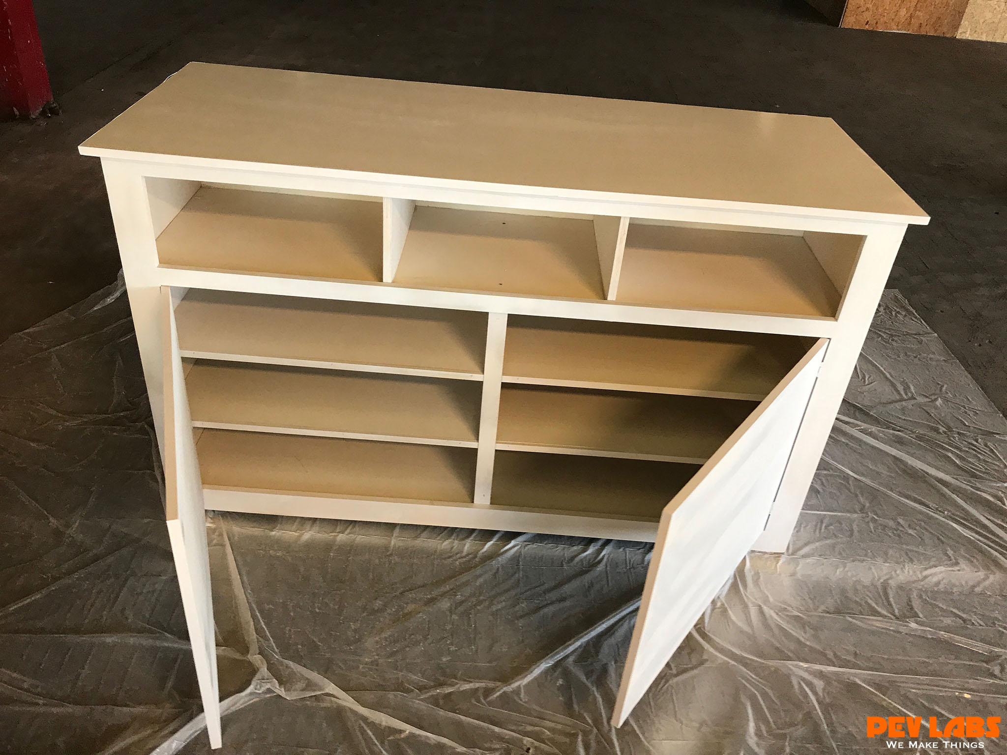 Custom Cabinet - Casework Shelves and Doors