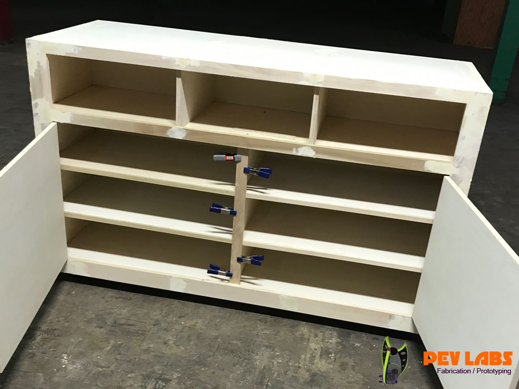 Custom Cabinet Shelves and Doors