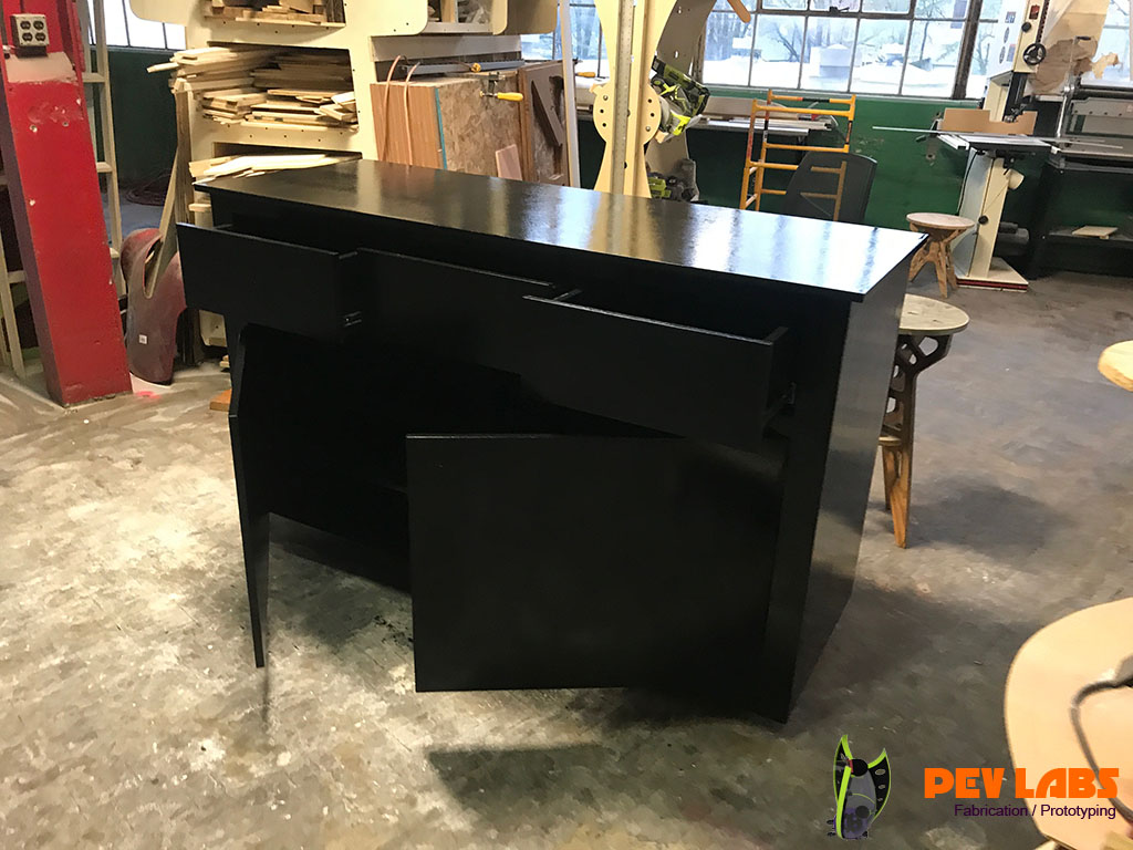 Customer POS Cabinet Drawers and Doors