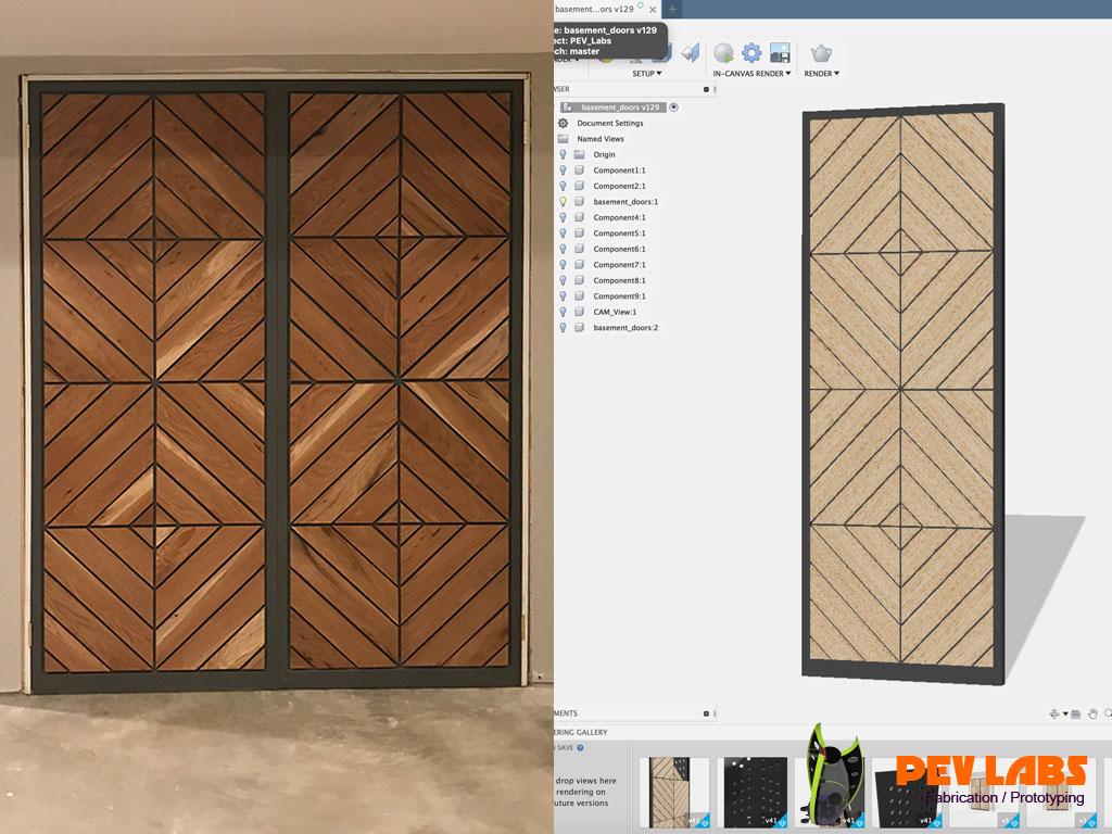 Custom Residential DoorsProduct Design