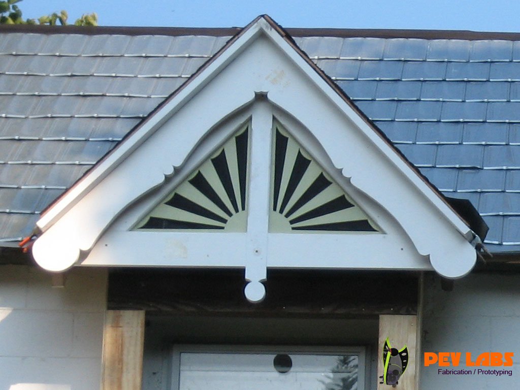 Victorian Gable End Trim Carpentry