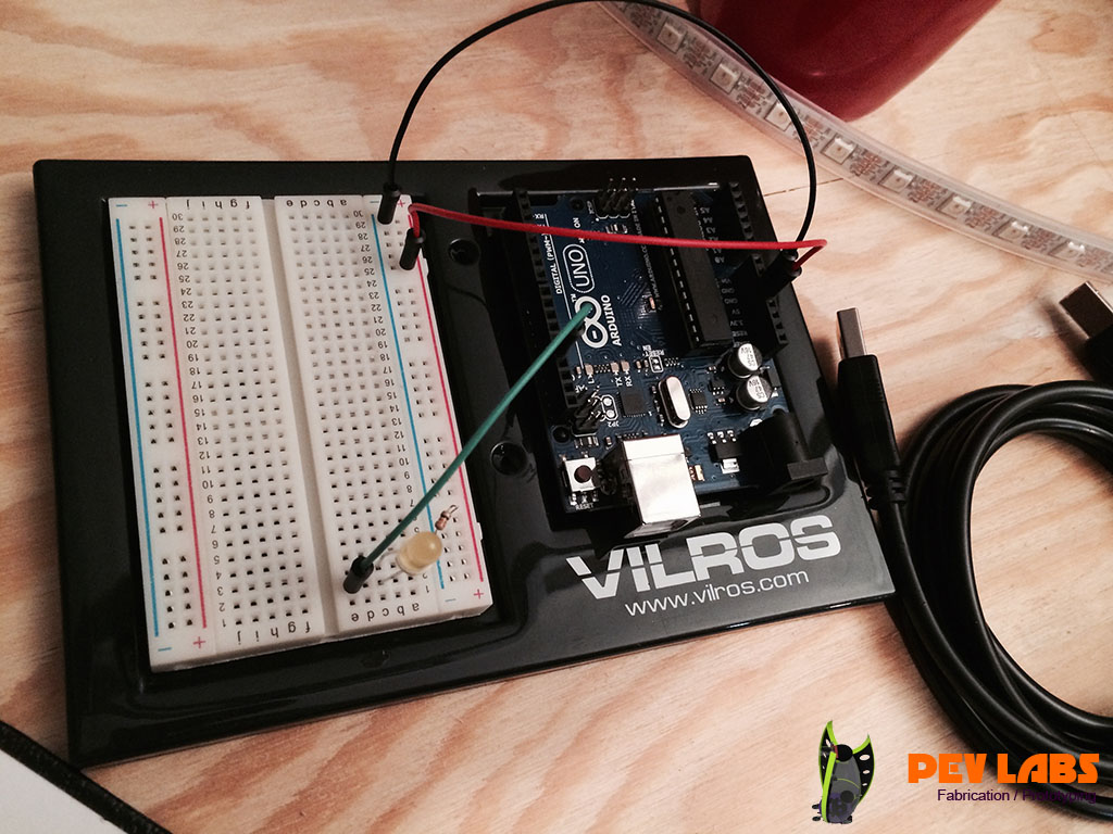 Breadboard Arduino Project