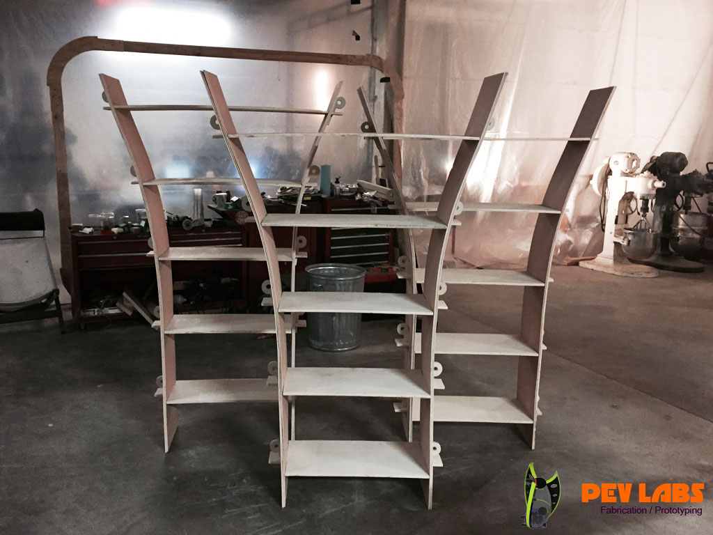 latpack Curved Shelving Kit
