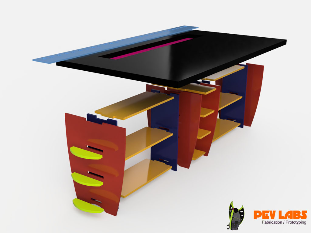 More About DIY Flat-Pack Shelving and Workbench - Digital Fabrication Services