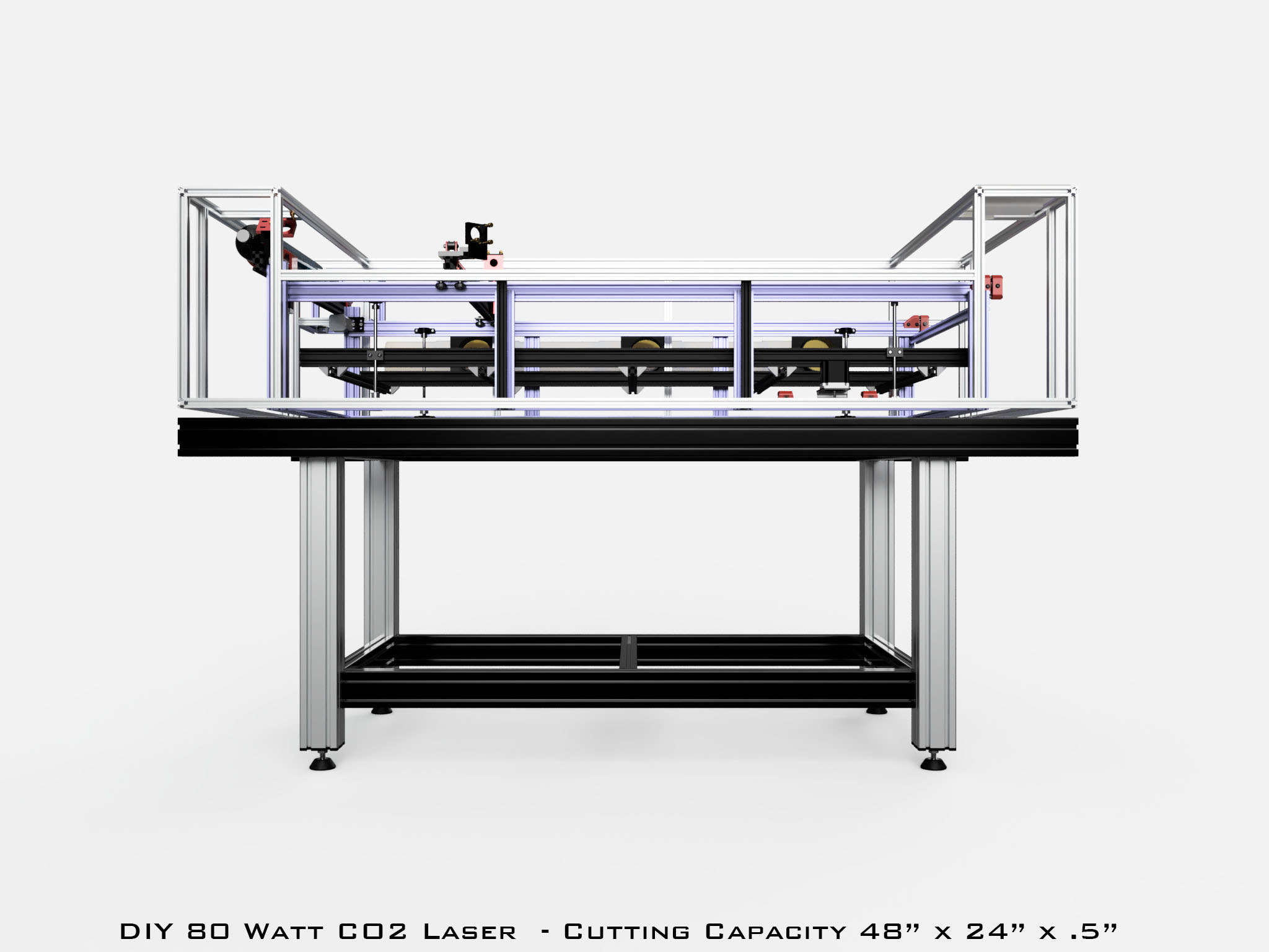 80 Watt Co2 Laser Design