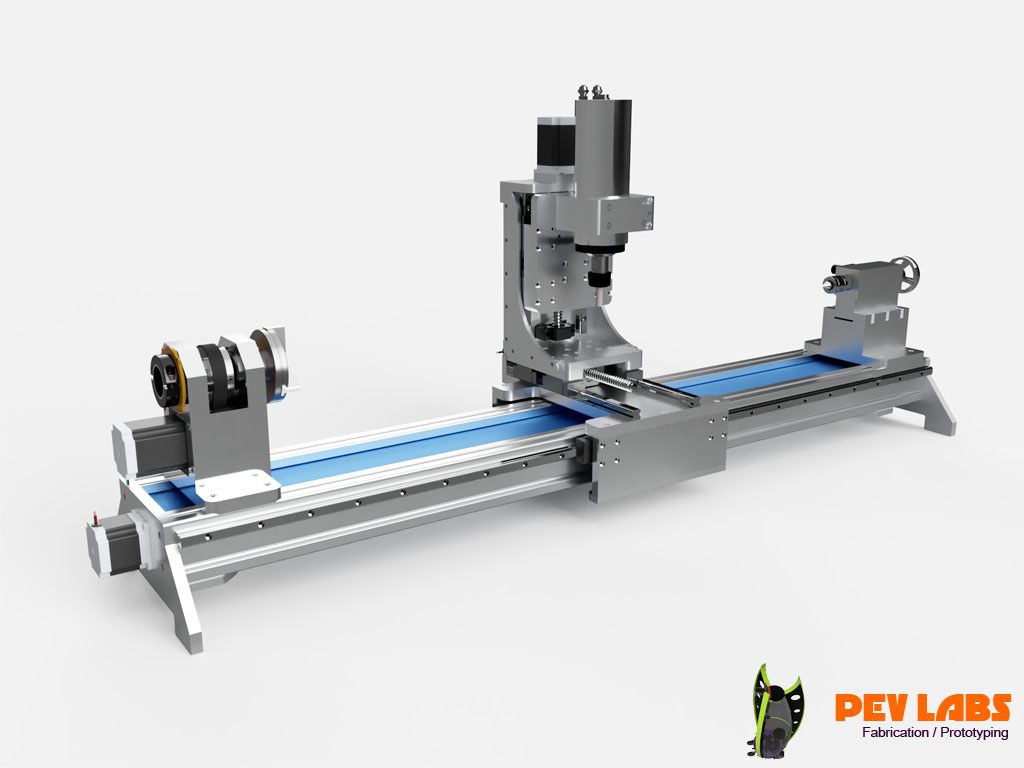 CNC Lathe Product Design