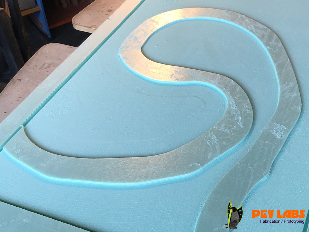 CNC Milling Extruded Polystyrene