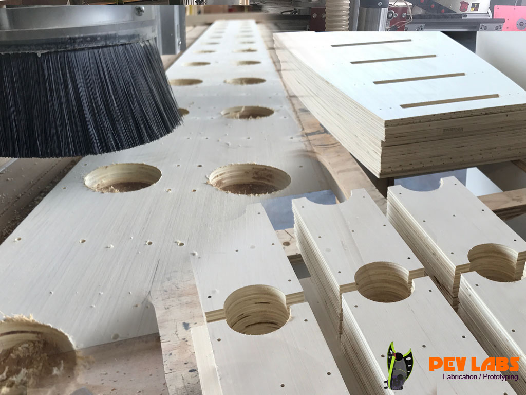 CNC Milling of Furniture Parts