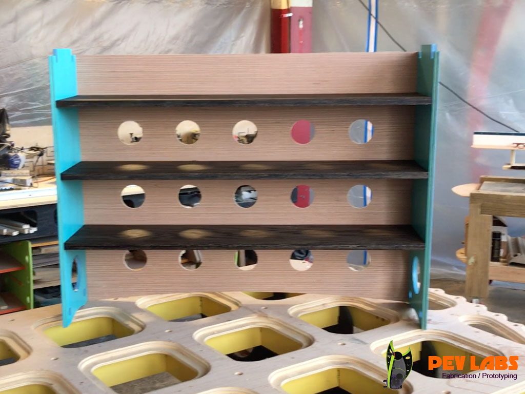 Milled Flat Pack Bookcase