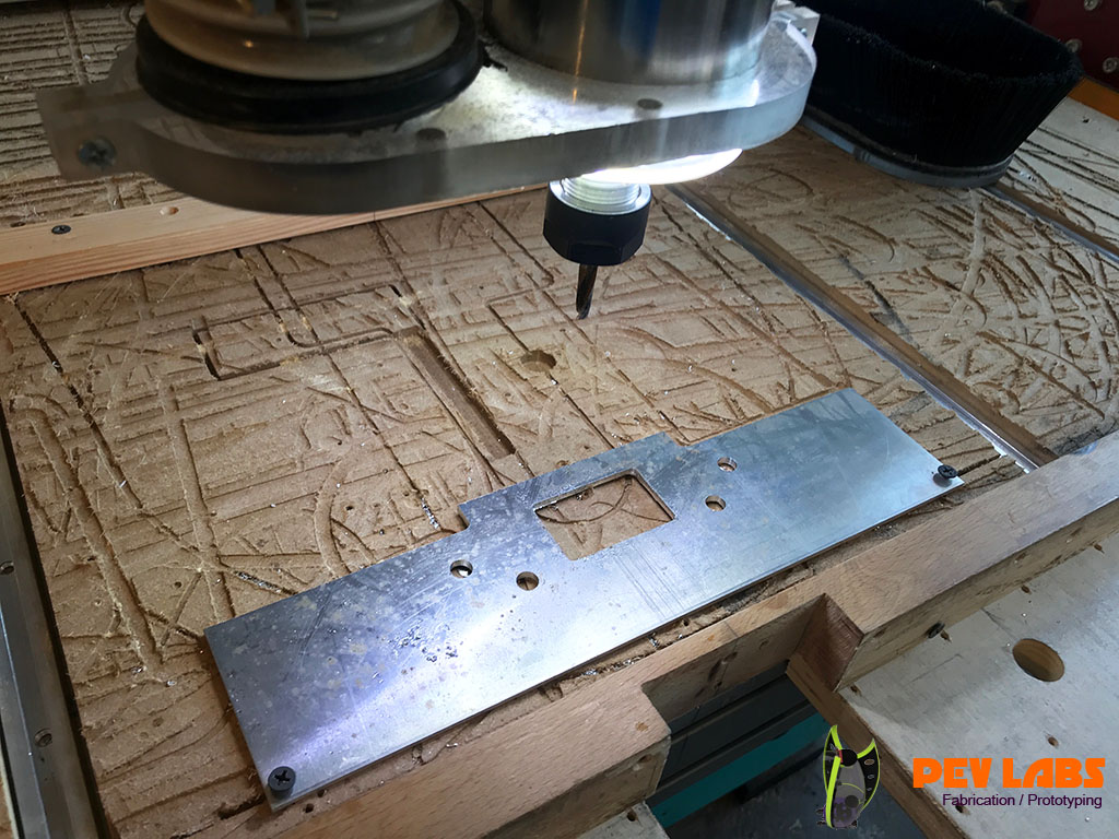 CNC Milling Metal Prototype Part