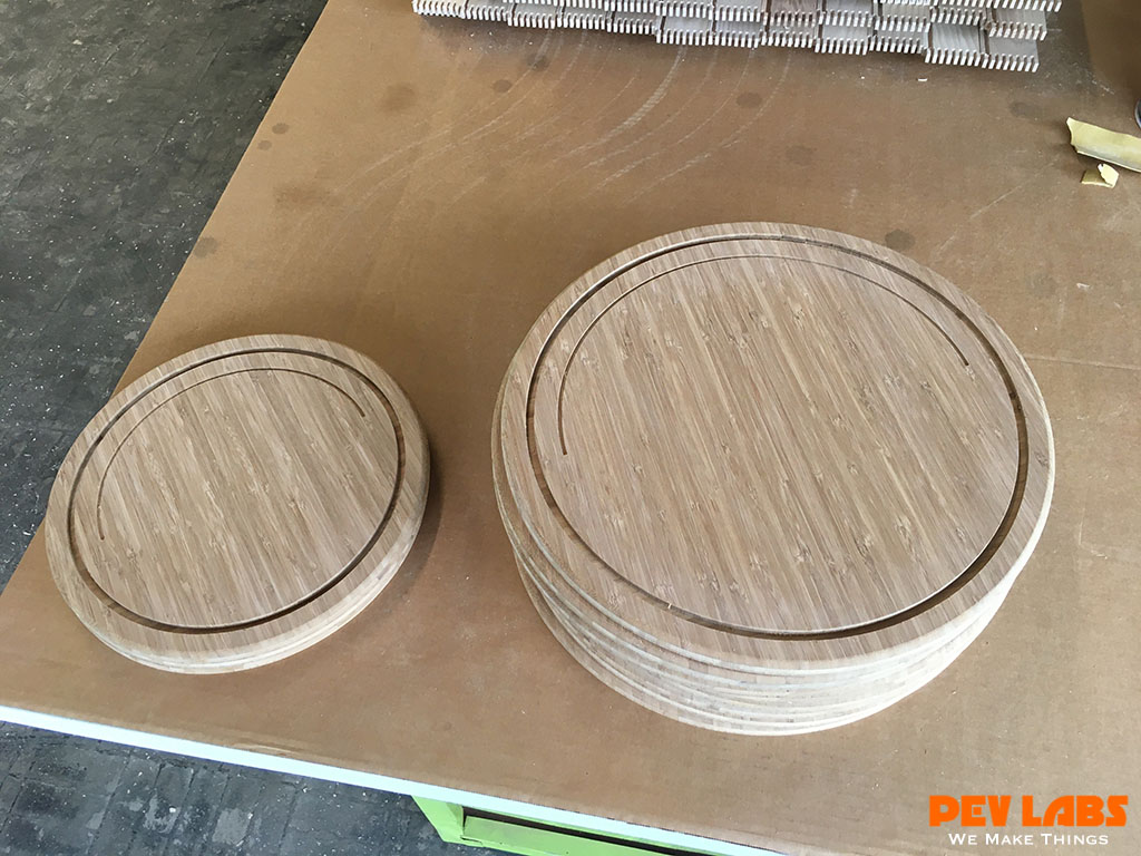 Milling Bamboo Plywood