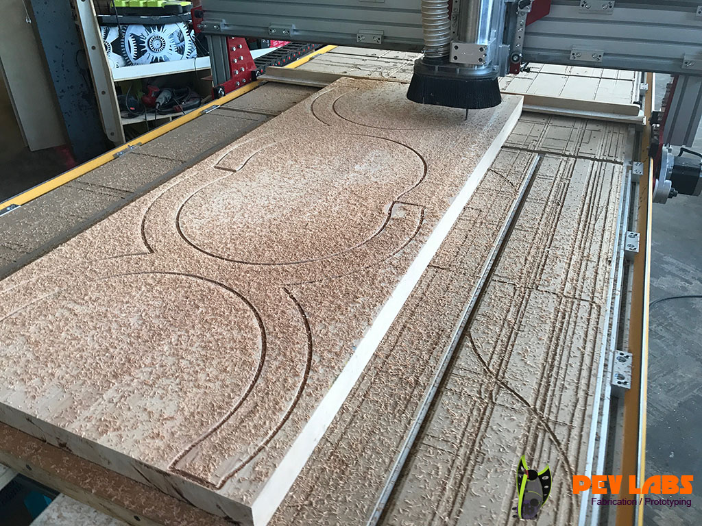 Milling Wood for Chair Frame