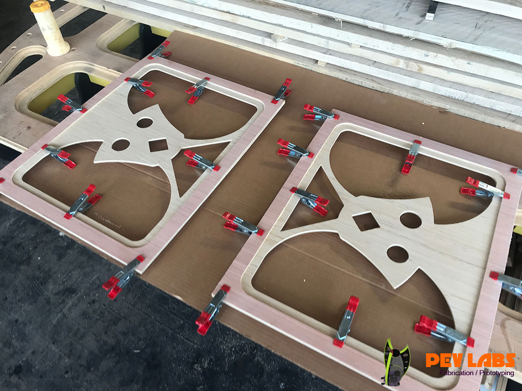 Plywood Design Elements for our Co2 Laser Project