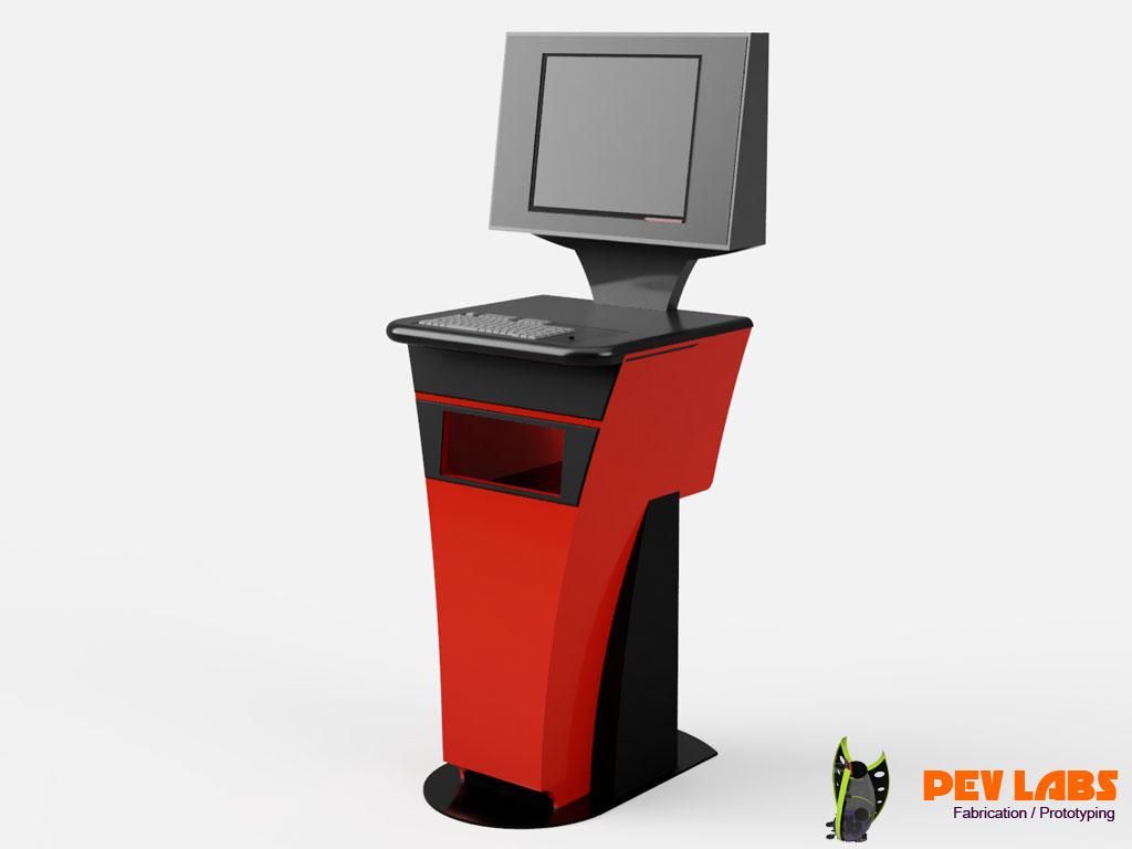 colorcore Kiosk Prototype Design