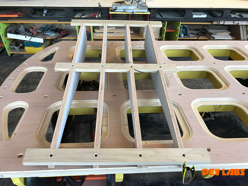 Kiosk Assembly Jig Bottom