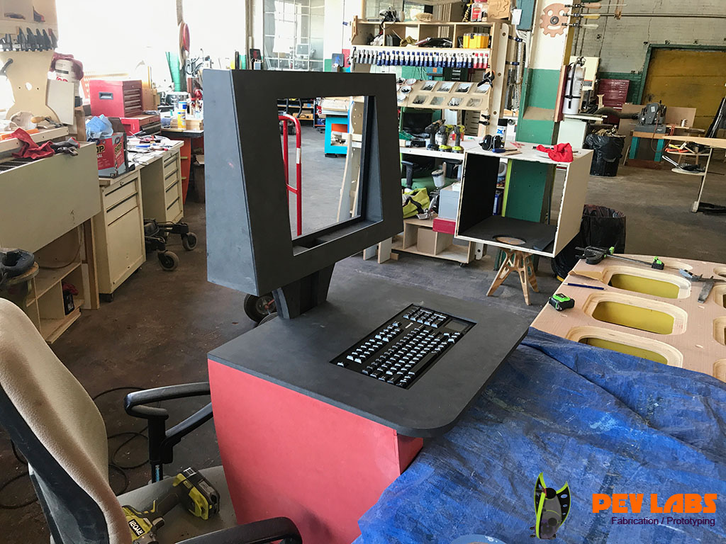 Kiosk Prototype Taking Form