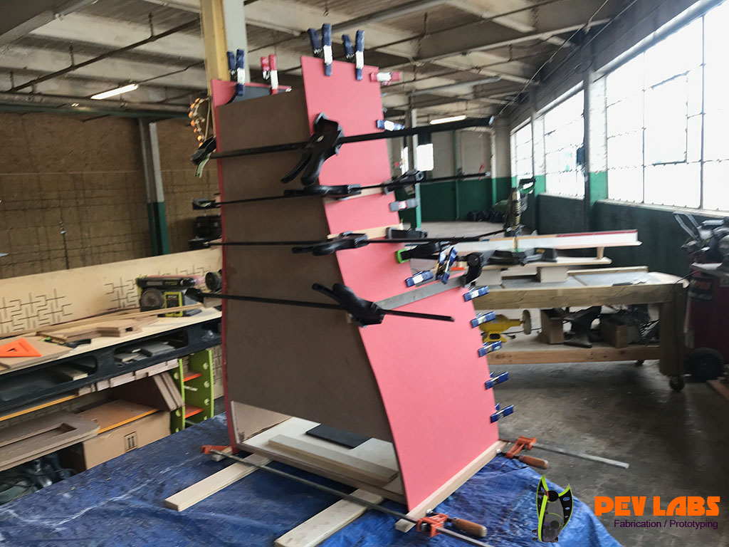 Laminating Color Core MDF