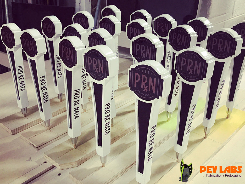 Pro Re Nata Resin Cast Beer Tap Handles in Waynesboro Virginia