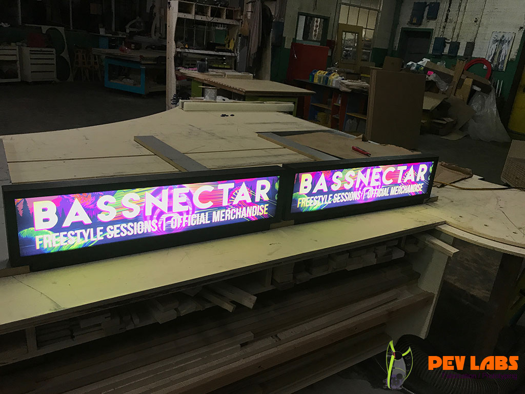 Bassnectar Light Boxes for Displays
