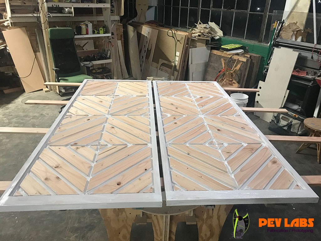 Custom Door Framing Primed