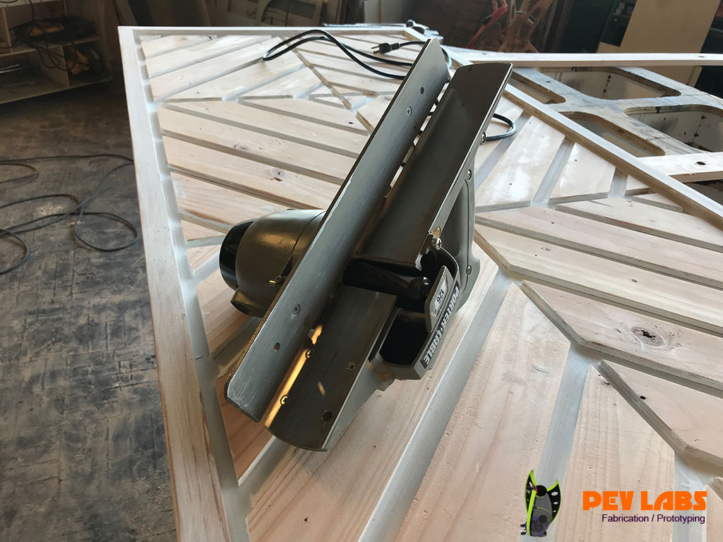 Porter Cable Helical Cutter Door Plane