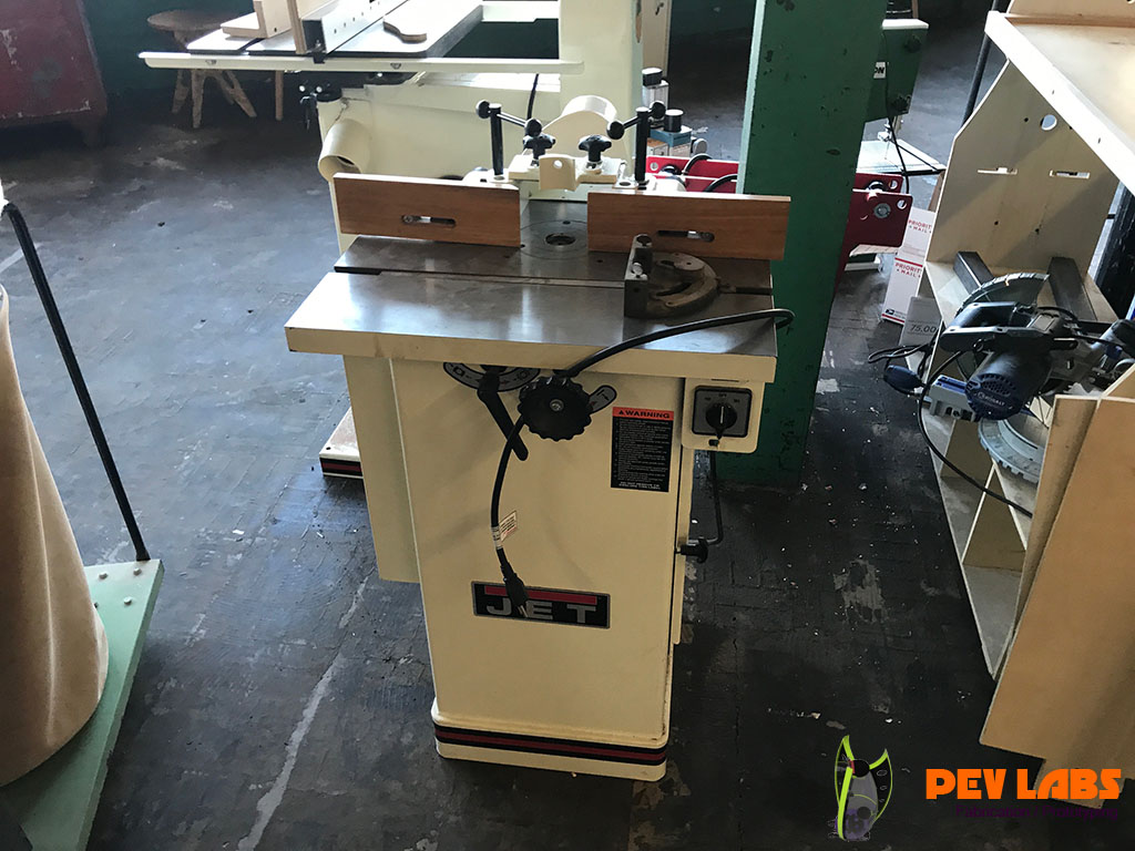 Jet Spindle Shaper for Milling