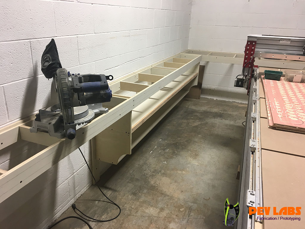 Miter Box on Tablesaw Extension