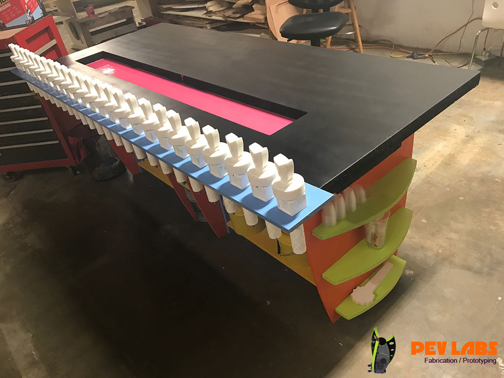 PEV Labs Resin Casting Workspace Table
